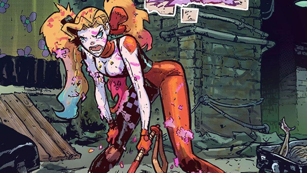 Harley Quinn in Harley Quinn Infinite Frontier #2.