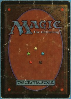 Back of a Magic the Gathering card.