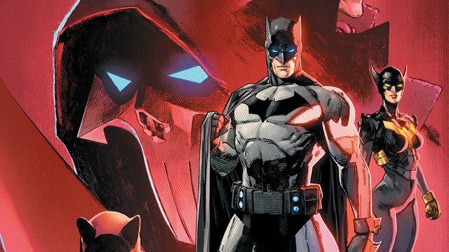 The cast of Batman/Catwoman, Catwoman, Batman, Batwoman, and the Phantom.