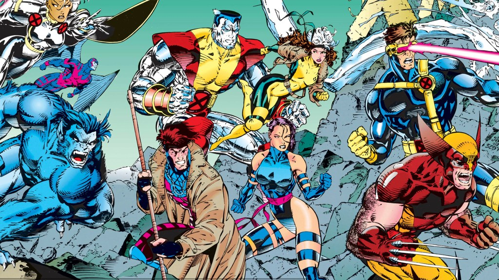 A potential X-Men game roster with Wolverine, Cyclops, Storm, Beast and more.