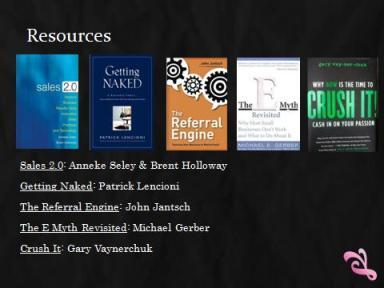 Books about Sales 2.0 Principles