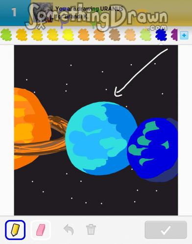 How To Draw Uranus : uranus, Uranus, Learn