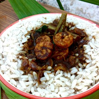Chemmeen Theeyal- Shrimp in Roasted Coconut Gravy