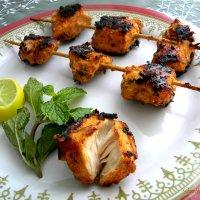 Afghani Chicken Kebab #AtoZChallenge