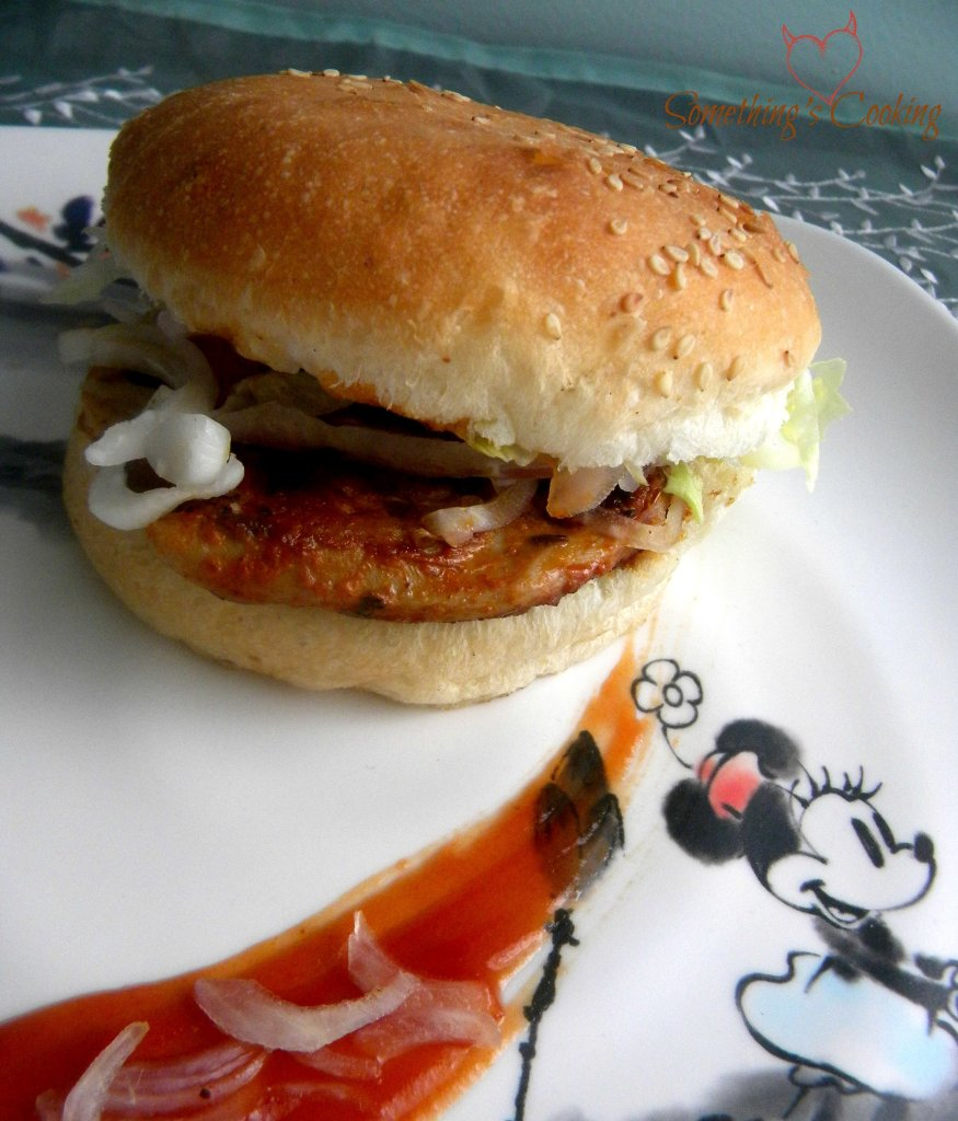 Roast Chicken Burger3
