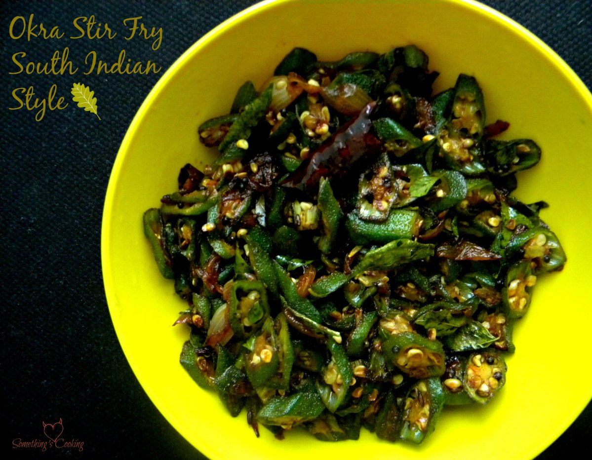 Okra Stir Fry - South Indian Style