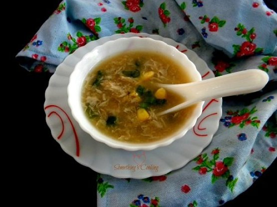 sweet corn chicken soup-recipe-chinese