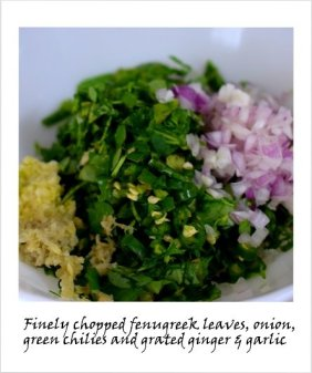 methi thepla step by step recipe 2