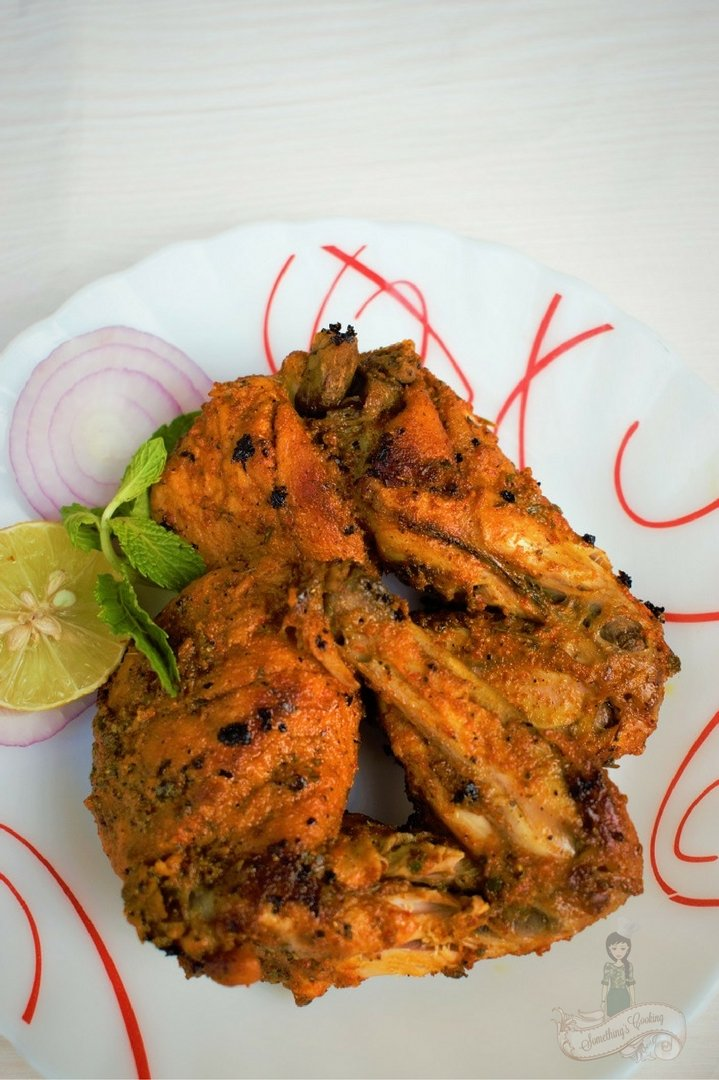 Tandoori Chicken - Tandoori chicken tikka - Tandoori Murg Recipe