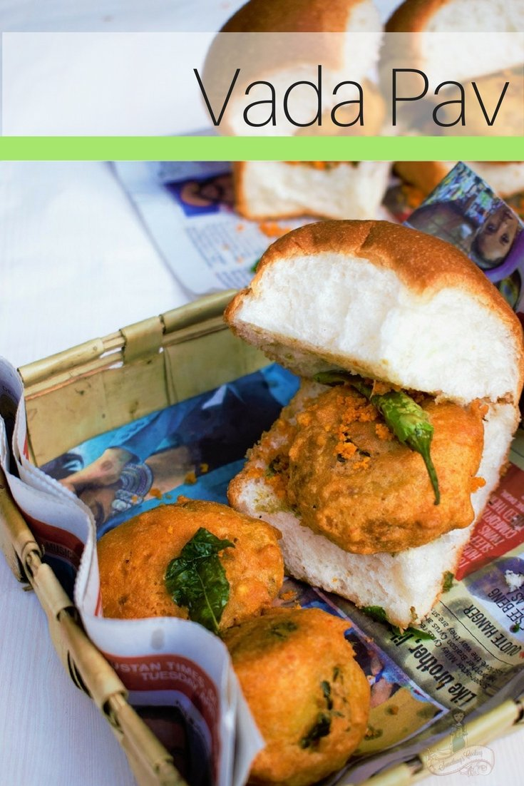 Mumbai Vada Pav - Vada Pav Chutney - Vada Pav Authentic recipe - Vada Pav at home