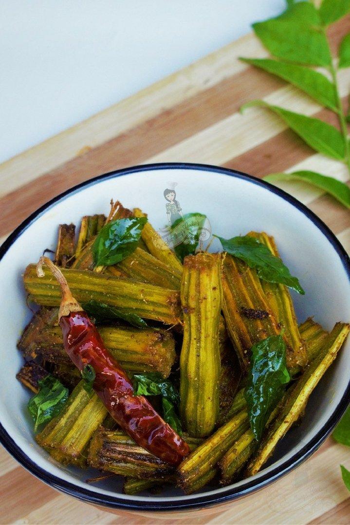 Drumstick Fry Kerala recipe Pinterest
