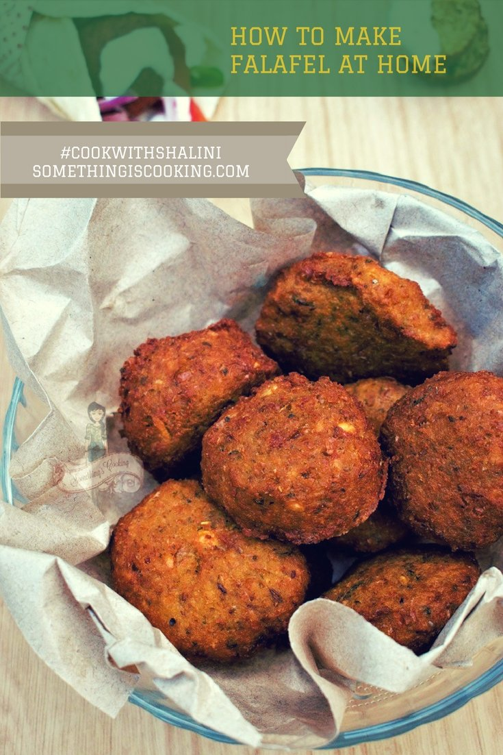 Falafel | How to make Falafel at Home