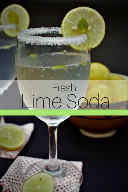 Fresh Lime Soda Pinterest