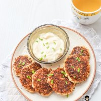 Eggless Keto Cauliflower Fritters