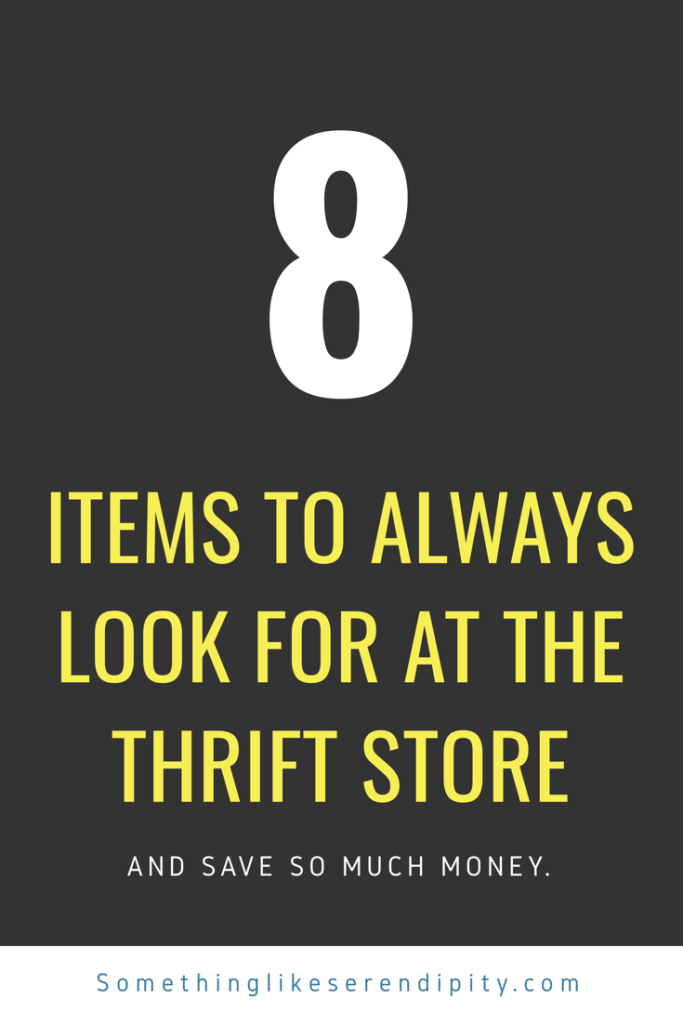8 best things to buy at the thrift store