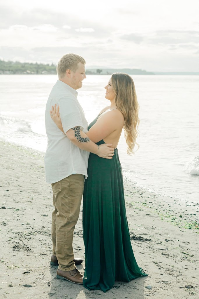Point No Point Photography Session-PNW Beach Engagement-Something Minted Photography
