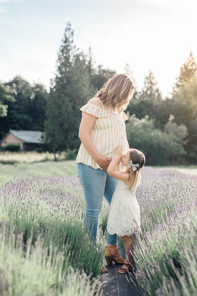 Lavender Field Maternity Session-Newborn Lifestyle Photographers-Home Birth-Something More Photography