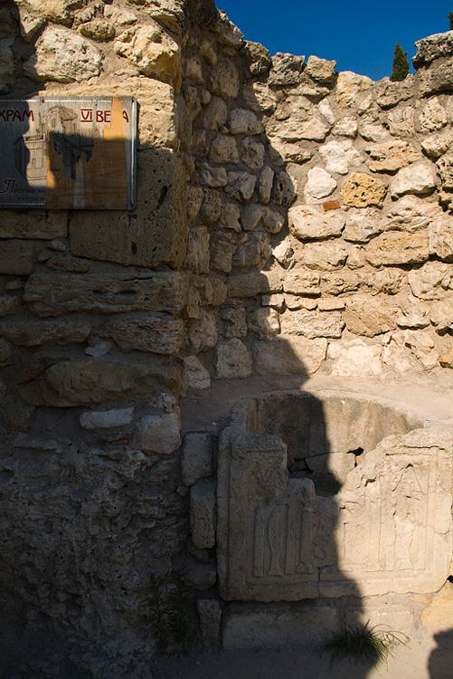Храм на трибунах амфитеатра