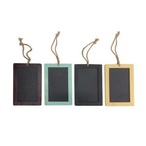 Small Decorative Black Boards Hanging