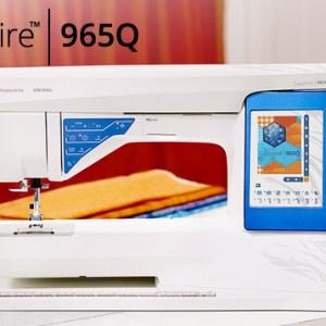 Husqvarna Viking Sapphire 965Q Quilting Sewing Machine Brand NEW