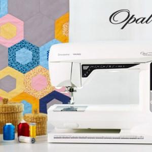 husqvarna viking opal 690Q sewing machine