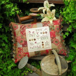 Quilting Sewing Cushion Pattern BRAMBLES Sally Giblin Rivendale Collection New