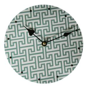 Clock French Country Vintage Inspired Wall Clocks Time AZTEC DESIGN 2, 29cm NEW