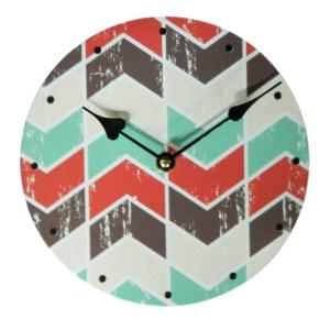Clock French Country Vintage Inspired Wall Clocks Time AZTEC DESIGN 1 29cm NEW