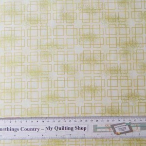 Quilting Patchwork Sewing CREAM METALLIC SQUARES TONAL 50x55cm FQ NEW