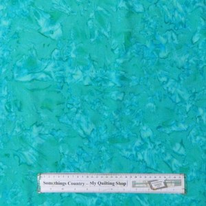 Quilting Patchwork Sewing Fabric Batik AQUA DRIZZLE Cotton 50x55cm FQ NEW
