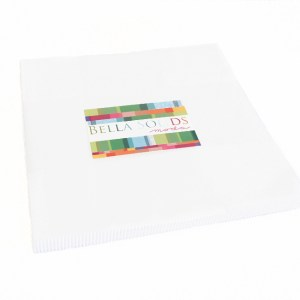 MODA Layer Cake BELLA WHITE Quilt 10inch squares Quilting Fabric NEW FREEPOST