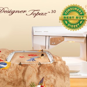 Husqvarna Viking Topaz 30 Sewing Quilting & Embroidery Machine NEW with warranty