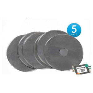 Set of 5 Rotary Cutting Blades 60mm Fits All Brands, Olpha, Clover, Truecut, Kai NEW