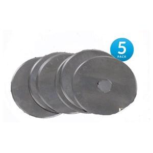 Sew Better Set 5 Rotary Cutting Blades 60mm Fits All Brands Olpha Clover Truecut Kai