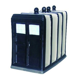 Collectable Dr Who Police Box Officer Kitchen Toaster Rack or Letter Holder New