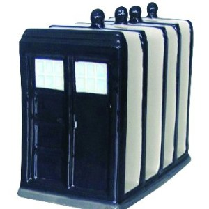 Collectable DR WHO POLICE BOX OFFICER Kitchen Toaster Rack or Letter Holder FREEPOST New