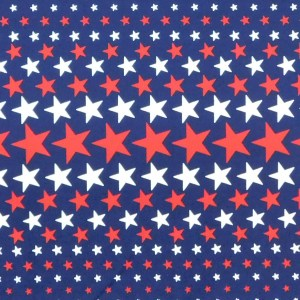 Patchwork Quilting Sewing Fabric NAVY STARS Material 50x55cm FQ Cotton DRILL New