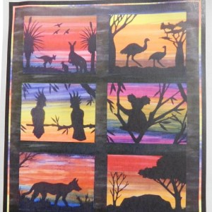 Quilting Sewing AUSTRALIAN Animals Quilt Pattern Set of 6 Designs NO Fabric New