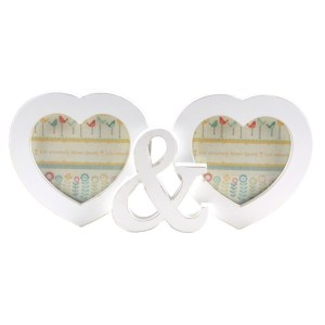 French Country Wall Photo Collage TWIN HEART MULTI Frame New