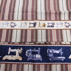 Country Style New Tea Towels Set of 2 SEWING MACHINES Handmade Teatowels NEW