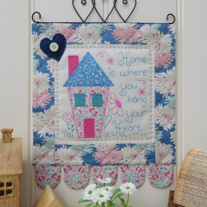 Quilting Sewing Wall Hanging Pattern HOME Sally Giblin Rivendale Collection NEW