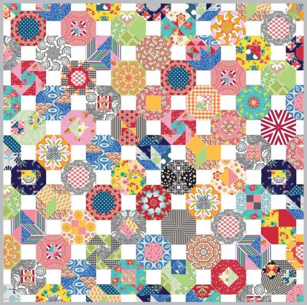 Quilting Patchwork Sewing Template Large Octagon Set Matilda's Own New