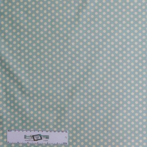 Quilting Patchwork Sewing Fabric TILDA BLUE AND WHITE SPOTS 50x55cm FQ New