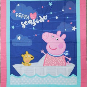 Patchwork Quilting Sewing Fabric PEPPA THE PIG Panel 92x110cm New Material