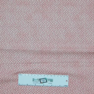 Patchwork Quilting Sewing Fabric PINK ON PINK SPOTS 50x55cm FQ New