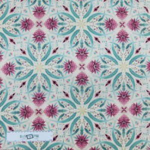 Patchwork Quilting Sewing Fabric UNDER AUSSIE SUN PINK WARATAH 50x55cm FQ New