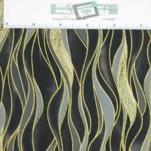 Patchwork Quilting Sewing Fabric DRAGONFLY DANCE BLACK METALLIC 50x55cm FQ New