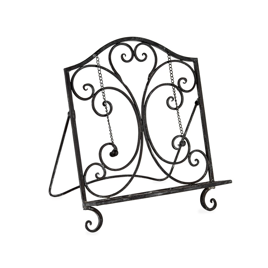 French Country Vintage Kitchen Wrought Iron REGAL BLACK