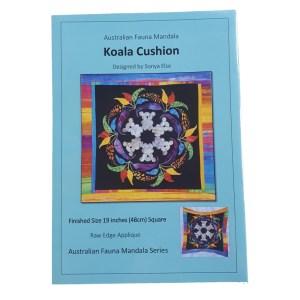 Quilting Sewing Australian Flora Mandala Cushion Pattern KOALA New