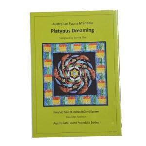 Quilting Sewing Australian Flora Mandala Topper Pattern PLATYPUS DREAMING New